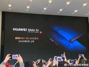 Mate Xs : Huawei officialise déjà son deuxième smartphone pliable