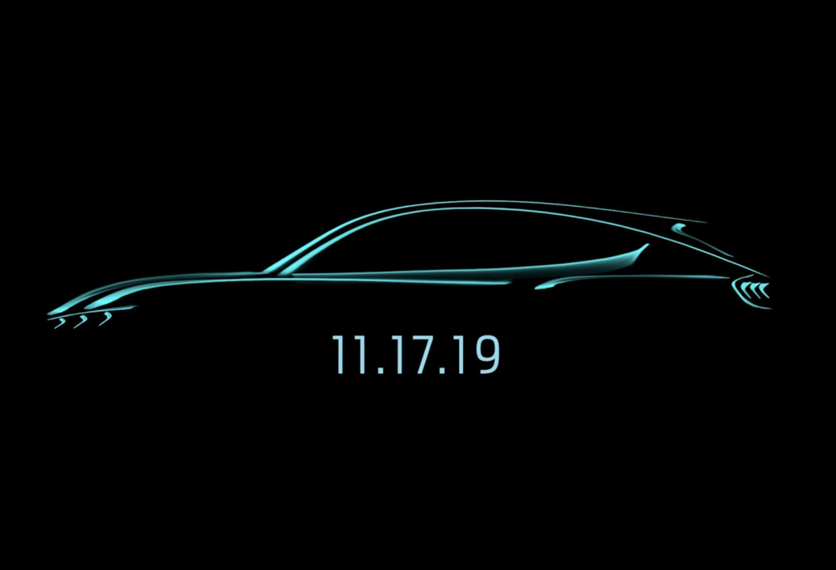 Le SUV électrique de Ford inspiré par la Mustang sera dévoilé le 17 novembre