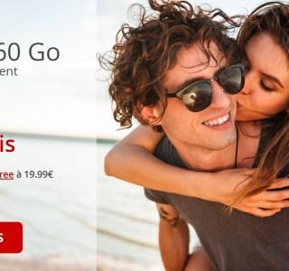 Free mobile : le forfait en série limitée propose dorénavant 60 Go pour 1 euros de plus