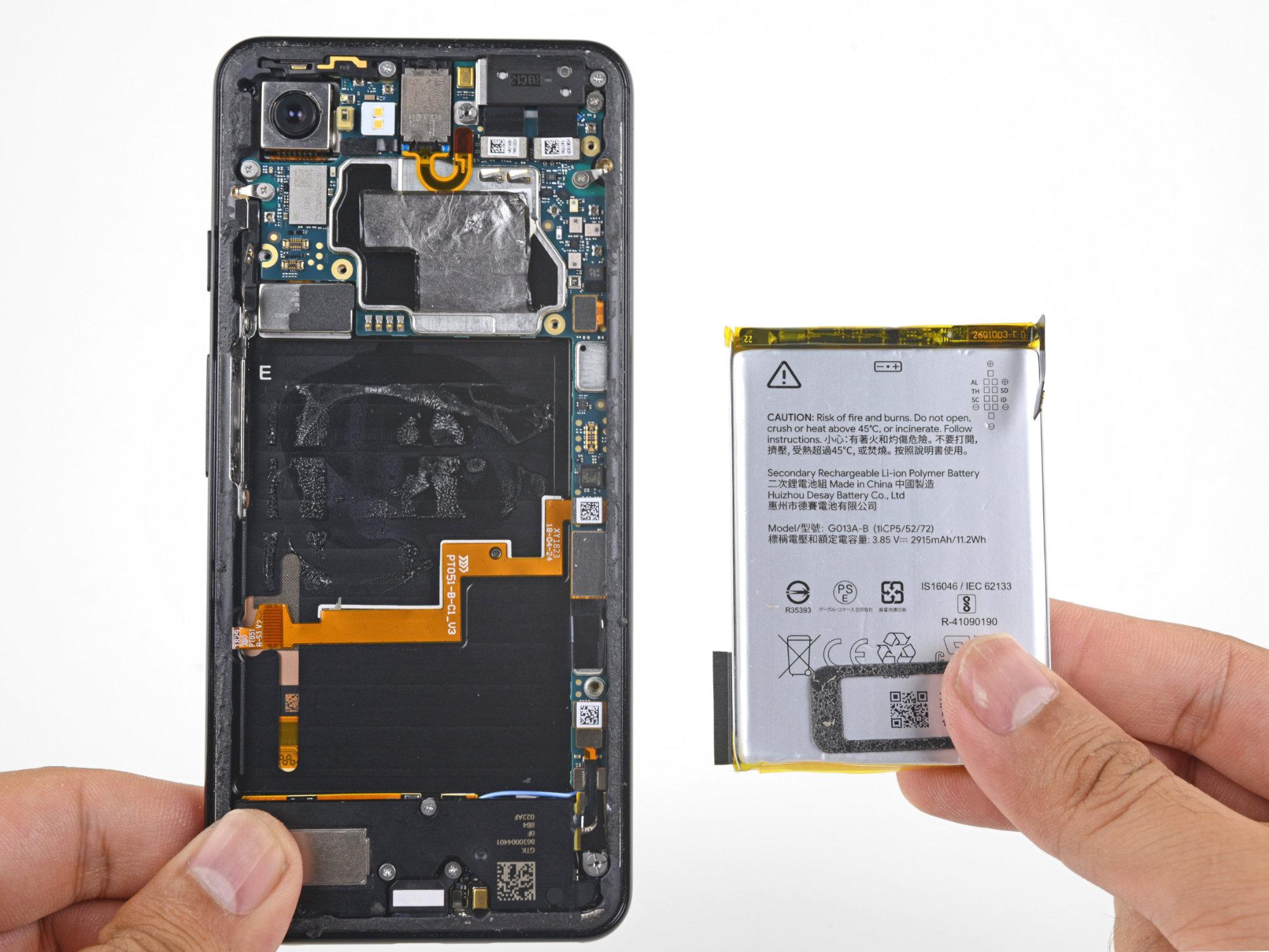 Google Pixel 4 : attention à l'autonomie avec cette petite batterie révélée par sa fiche technique