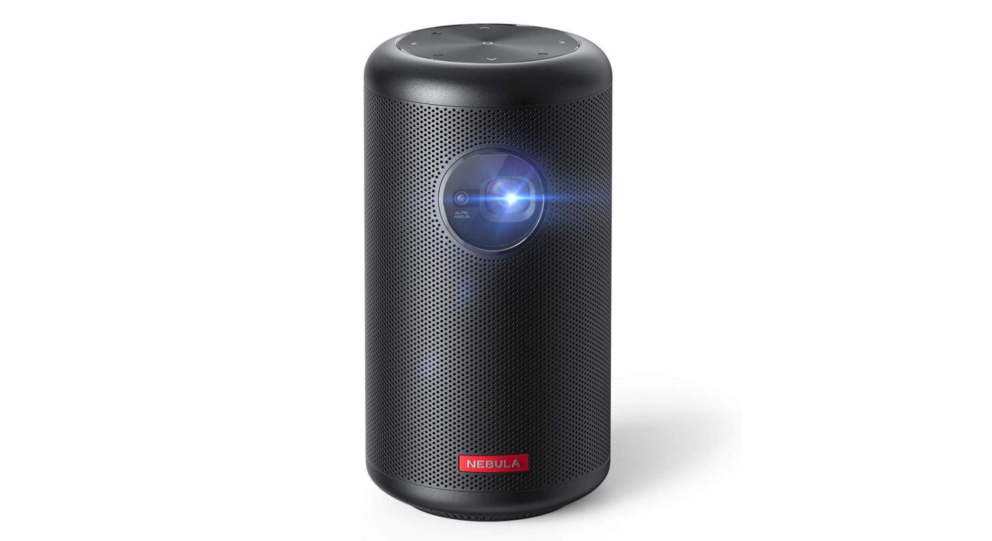 Nebula Capsule Max : le projecteur de la taille d'une canette de soda est en promotion