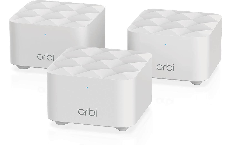 Orbi : Netgear sort de nouveaux routeurs Wi-Fi mesh en petit format
