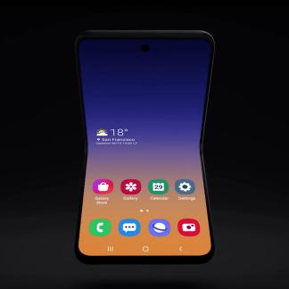 Samsung dévoile un nouveau smartphone pliable à clapet