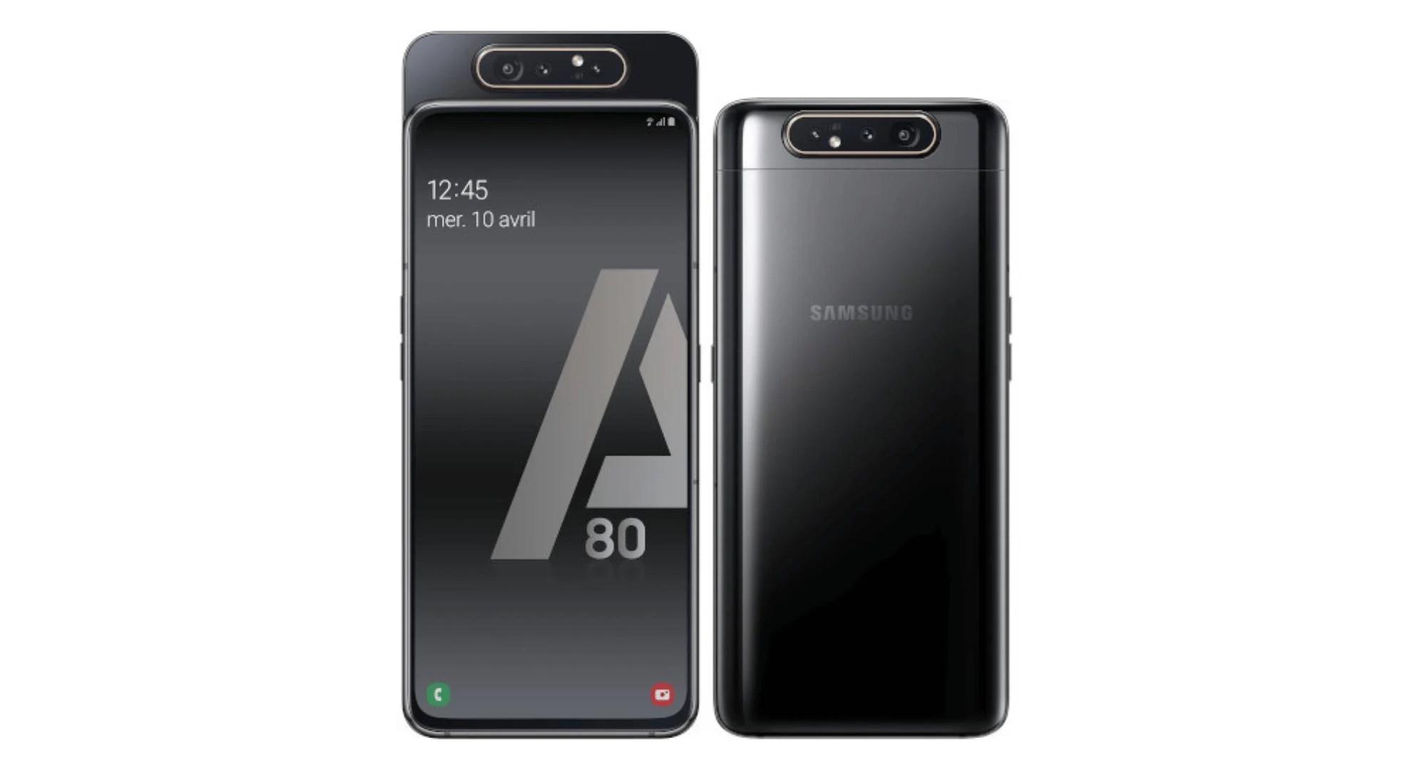 Le Samsung Galaxy A80 passe sous les 350 euros chez Cdiscount