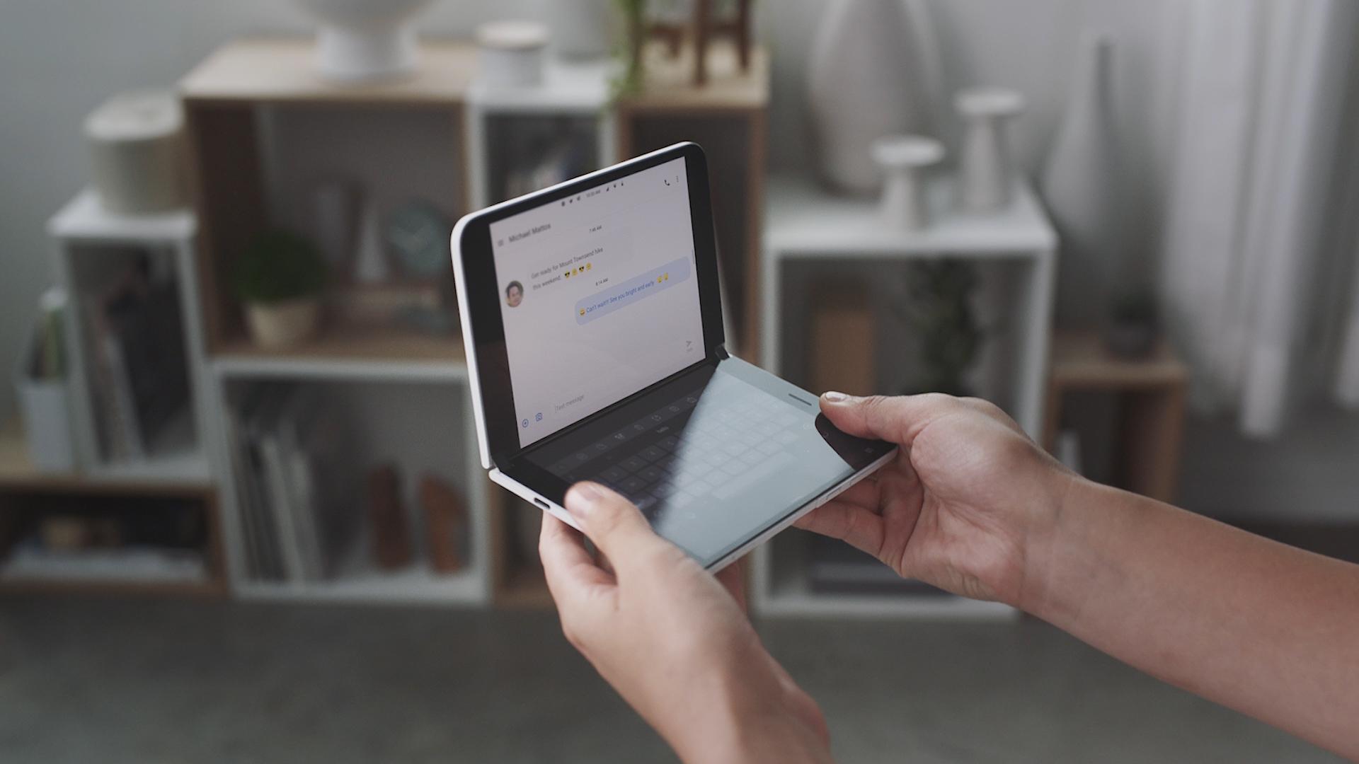 Surface Duo : un lancement avancé pour éviter un retard trop visible