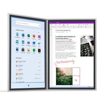 Microsoft Surface Neo officialisé : un ordinateur, deux écrans, un clavier, une révolution