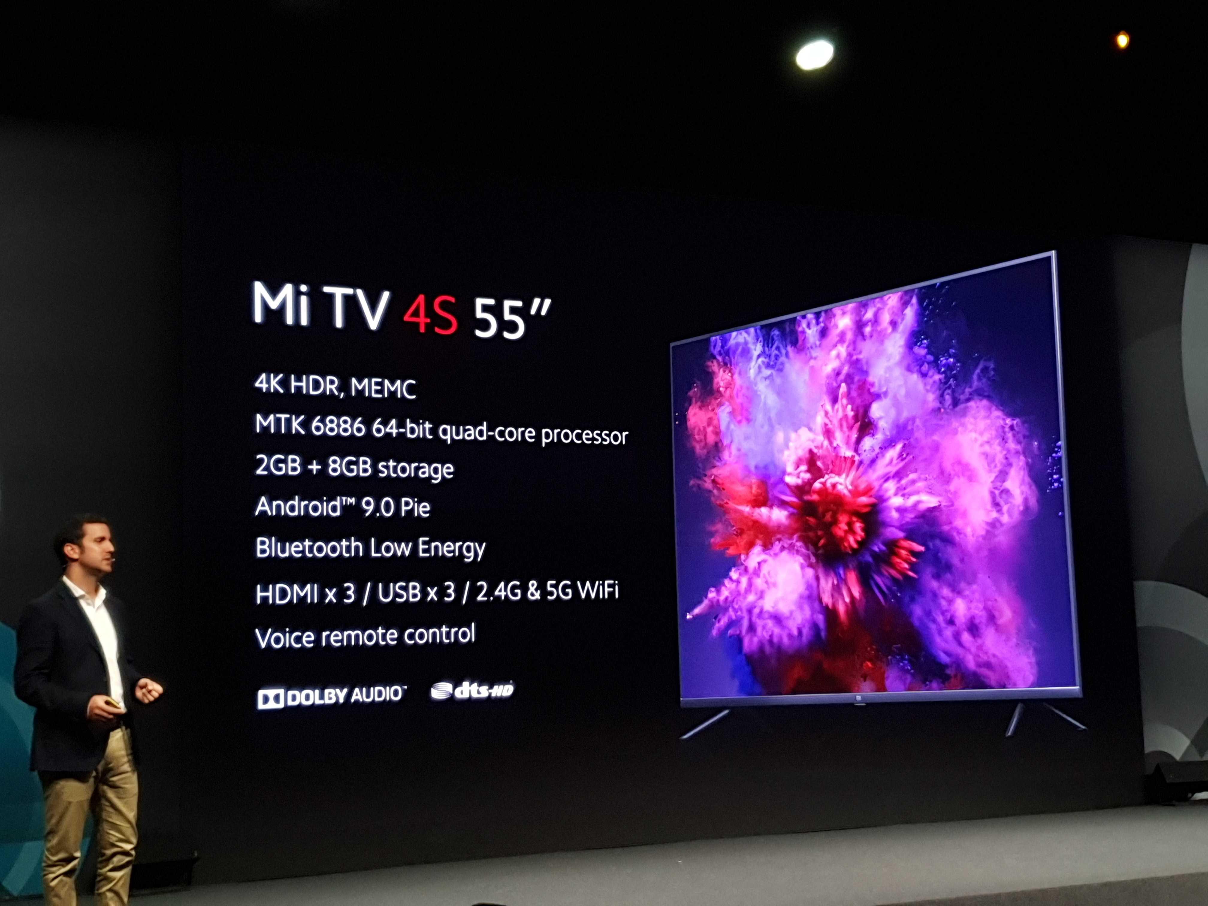 Xiaomi Mi Smart TV 4S officialisées en Europe : caractéristiques, disponibilité et prix