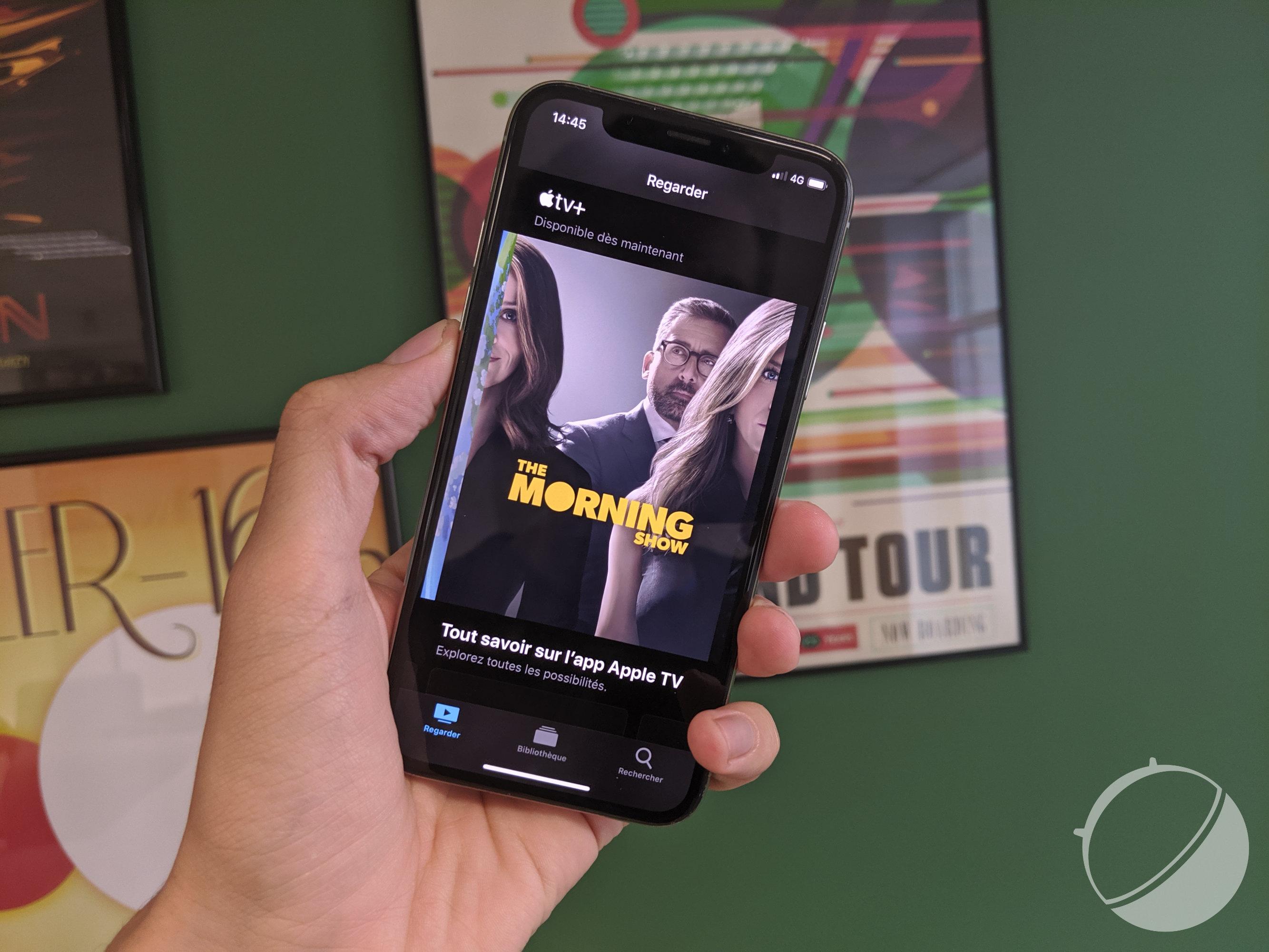 COVID-19 : Apple TV+ sacrifie aussi sa qualité d'image pour le bien du réseau