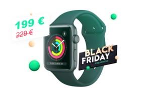 À moins de 200euros, c'est le moment de craquer pour l'Apple Watch Series3