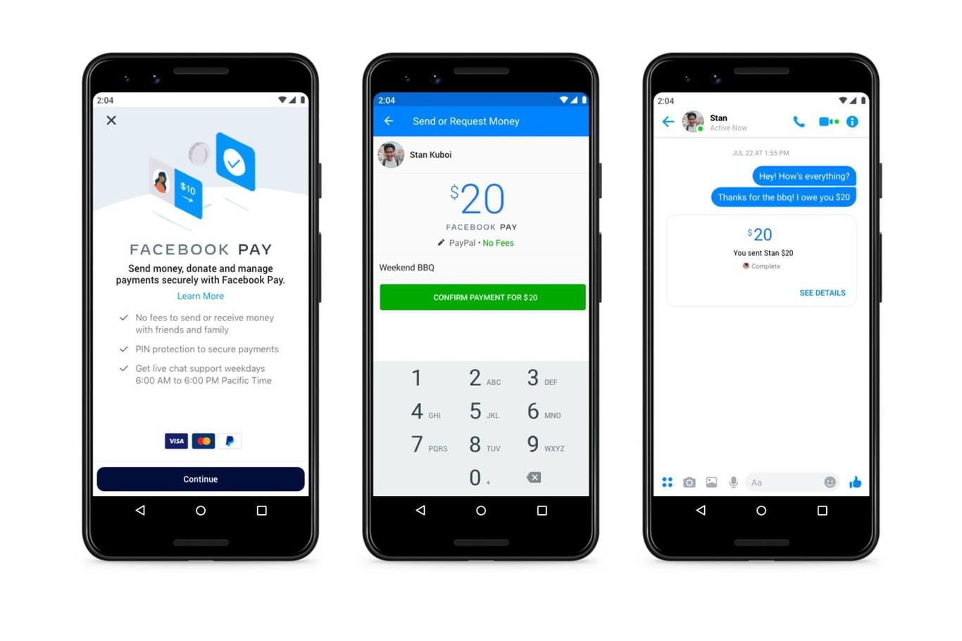 Facebook Pay annoncé : voici le nouveau moyen de paiement pour Messenger, Instagram et WhatsApp
