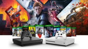 La Xbox One S (All Digital) et 3 jeux à 129 euros, la One X à 329 avec Star Wars
