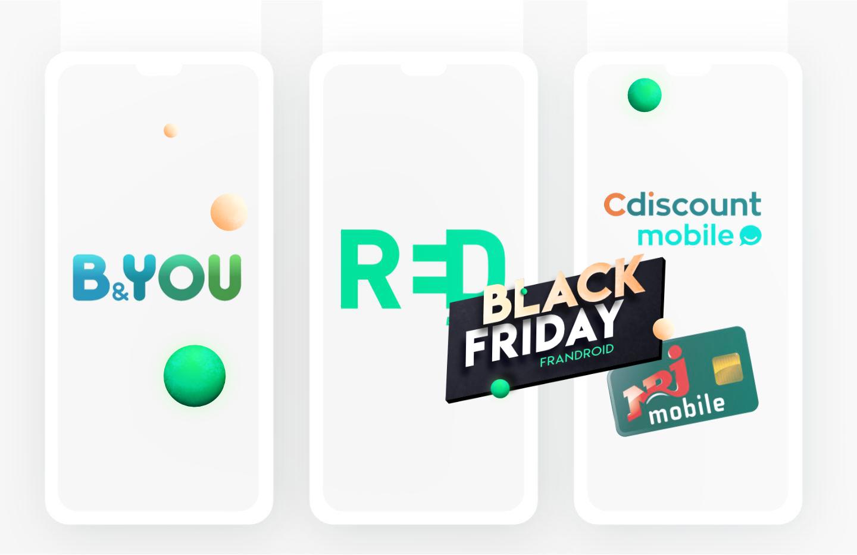 Forfait Mobile : derniers jours pour les TOP offres du Black Friday