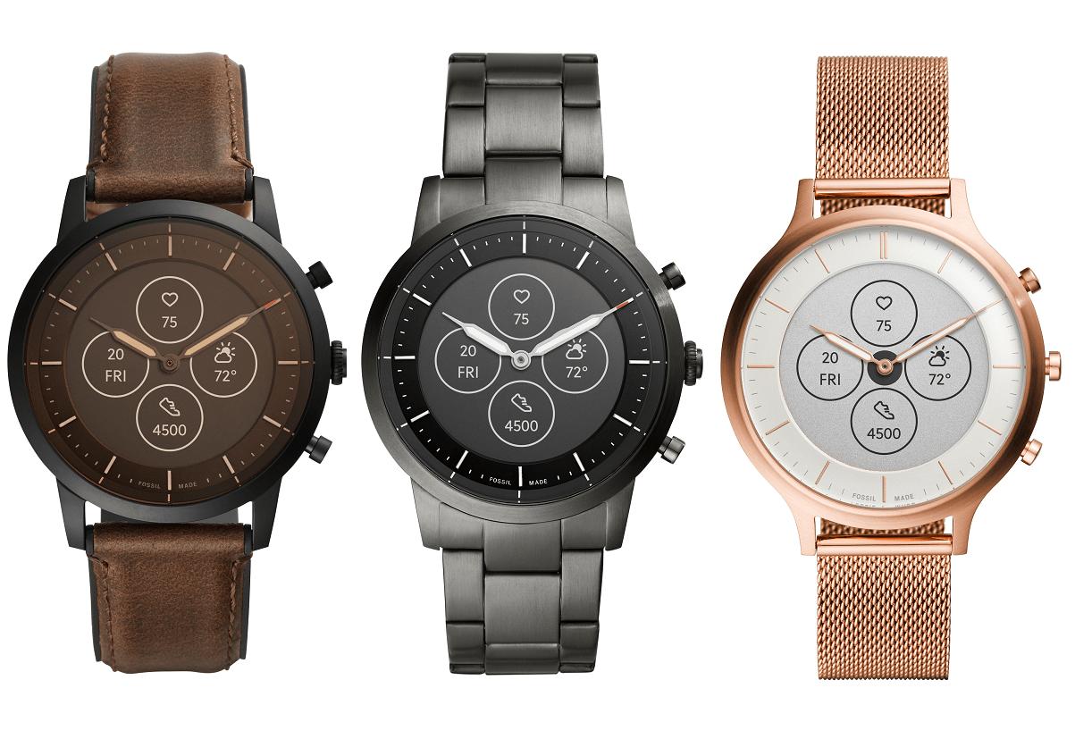 Hybrid HR : Fossil officialise sa montre avec aiguilles et écran e-ink