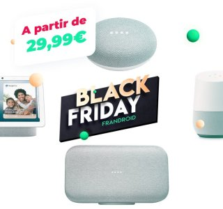 Grosses promos sur le Google Home, Home Mini, Home Max et Nest Hub pour le Black Friday
