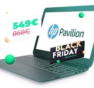 HP Pavilion 15 : i5 et GTX 1050 à moins de 550 euros chez Cdiscount, le Black Friday veut jouer