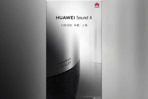 Huawei Sound X : une enceinte connectée créée par le Français Devialet