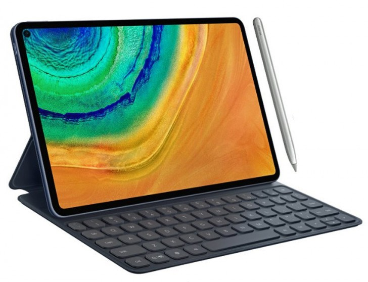 Huawei MatePad Pro : la tablette à écran percé se montre en vidéo