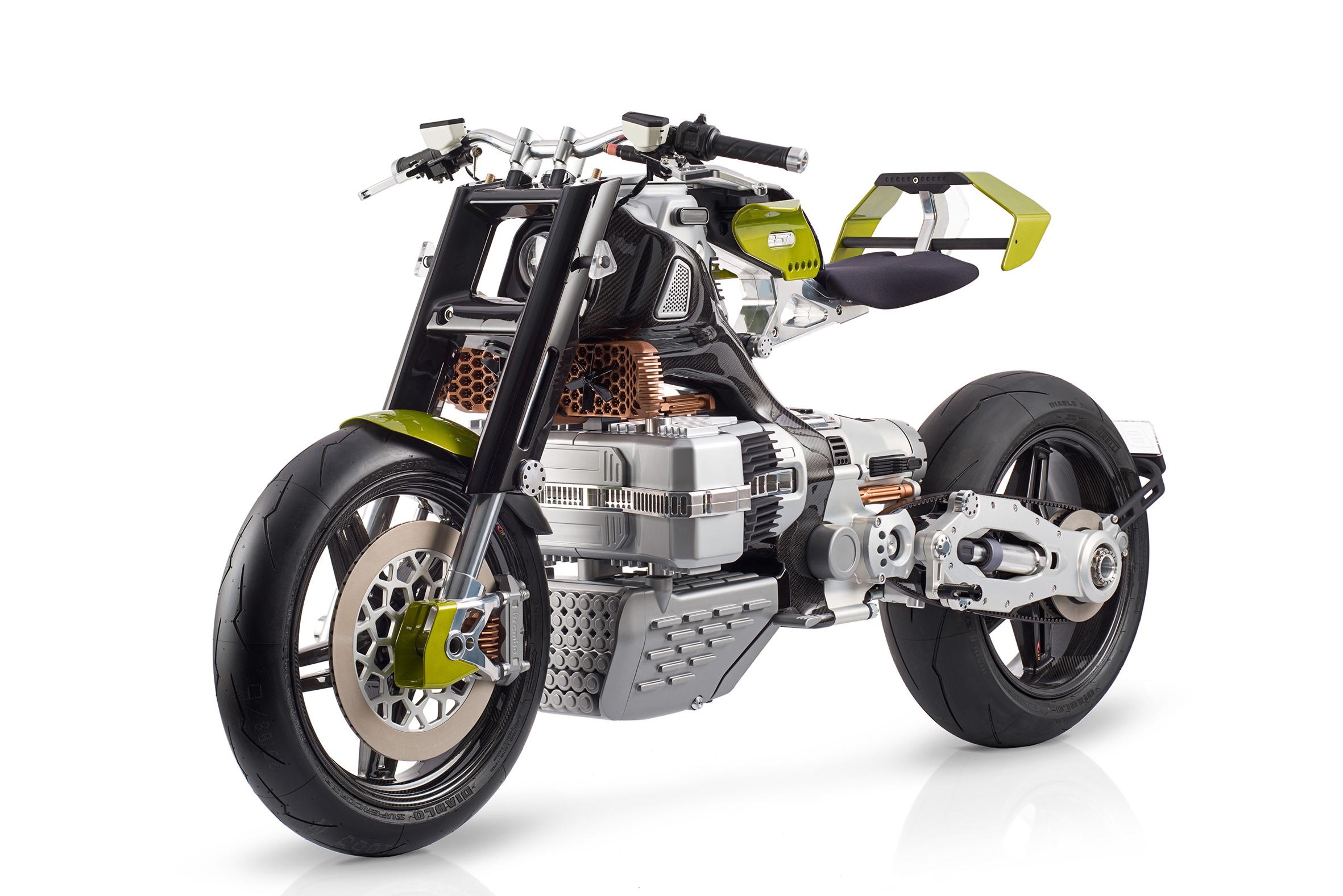 HyperTEK : cette moto électrique tape-à-l'œil en a clairement dans le ventre