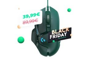 La souris Logitech G502 HERO est à 39 euros pour le Black Friday, une aubaine pour les joueurs