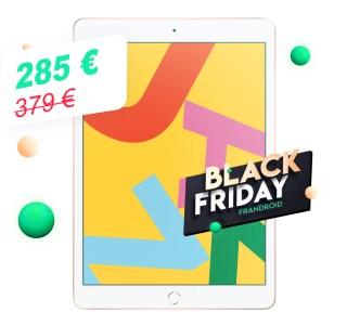 Le nouvel iPad2019 passe déjà sous les 300euros pour le Black Friday