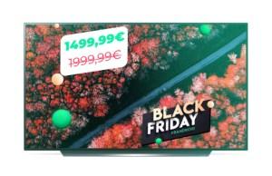 Le téléviseur 4K UHD LG OLED55C9 à moins de 1500 euros pour le Black Friday