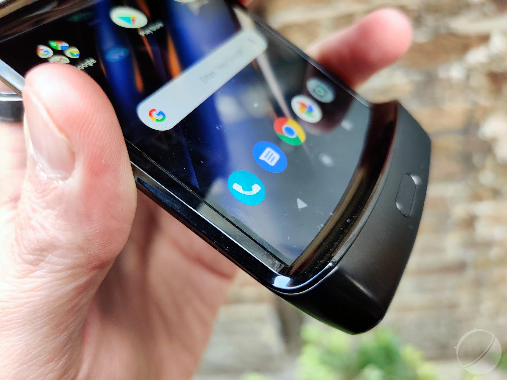 Premier aperçu du Motorola Razr 2020: comme un air de déjà-vu