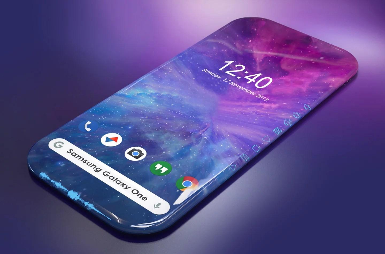 Samsung travaille sur un smartphone sans aucune bordure ni encoche