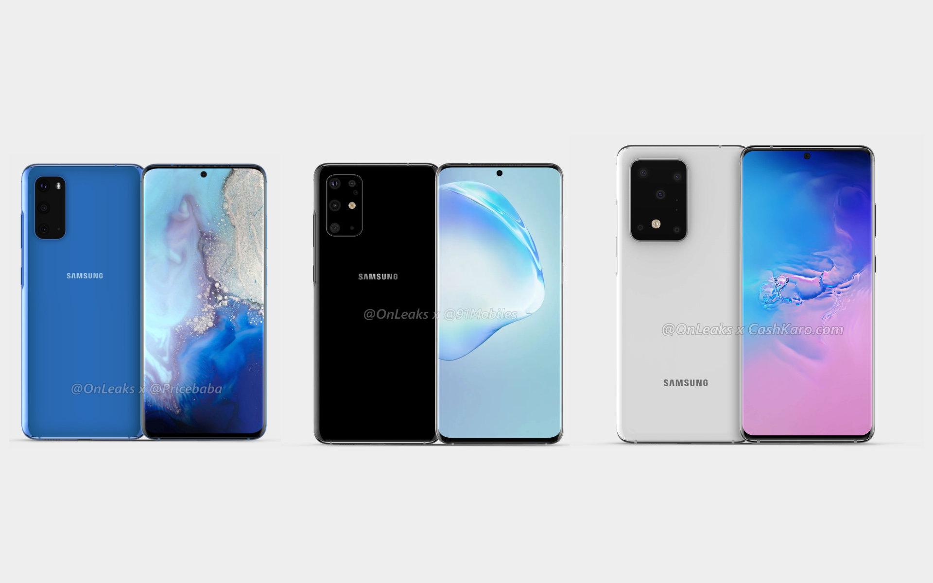 Samsung Galaxy S20, S20+, S20 Ultra (Galaxy S11) : date de sortie, fiche technique, photo… tout ce que l'on sait sur le prochain fleuron coréen