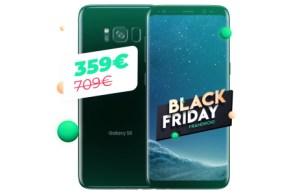 Samsung Galaxy S8 à 359 euros : l'ancienne star au meilleur prix pour le Black Friday