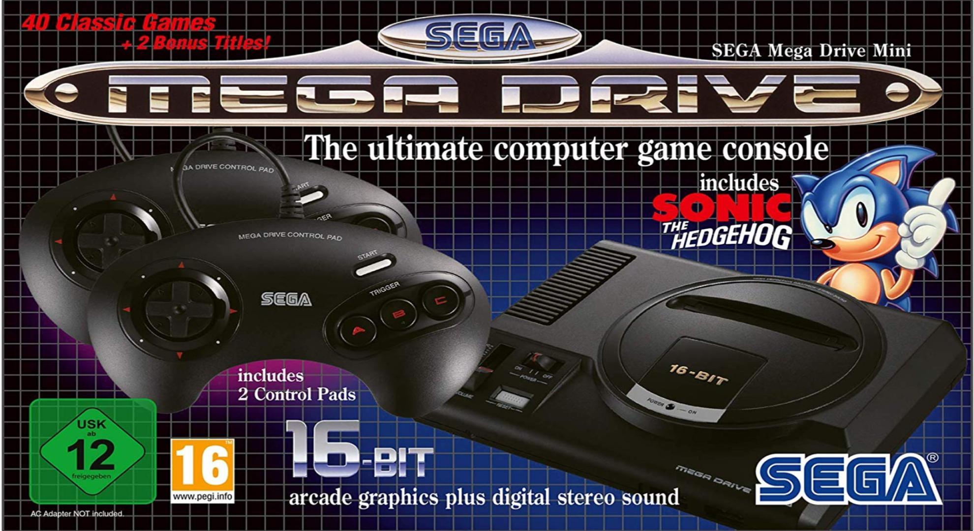 Revivez vos meilleurs souvenirs 16-Bit avec la SEGA Mega Drive Mini à 59 euros (au lieu de 79)