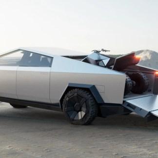 Tesla Cyberquad : découvrez le « One more thing » électrique d'Elon Musk