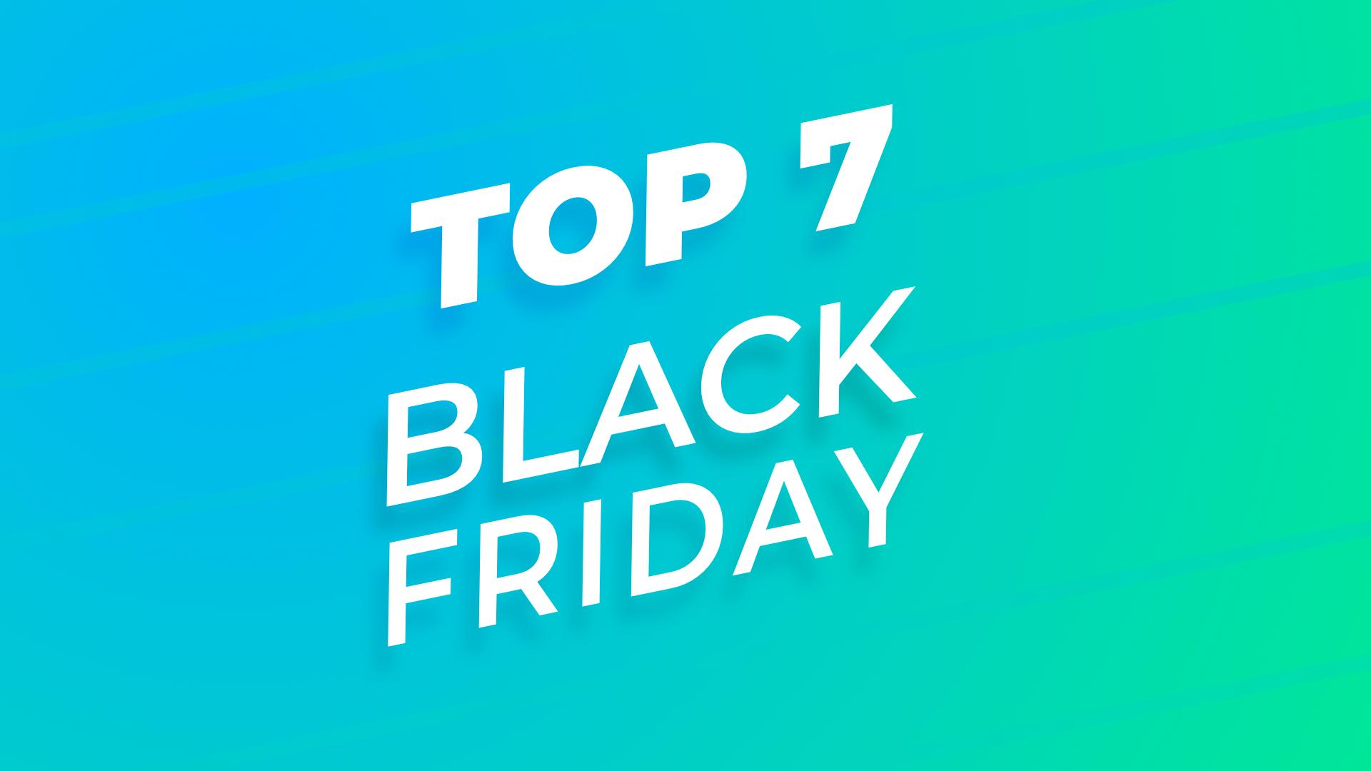Black Friday : le TOP 7 des offres Amazon et Cdiscount avant l'événement