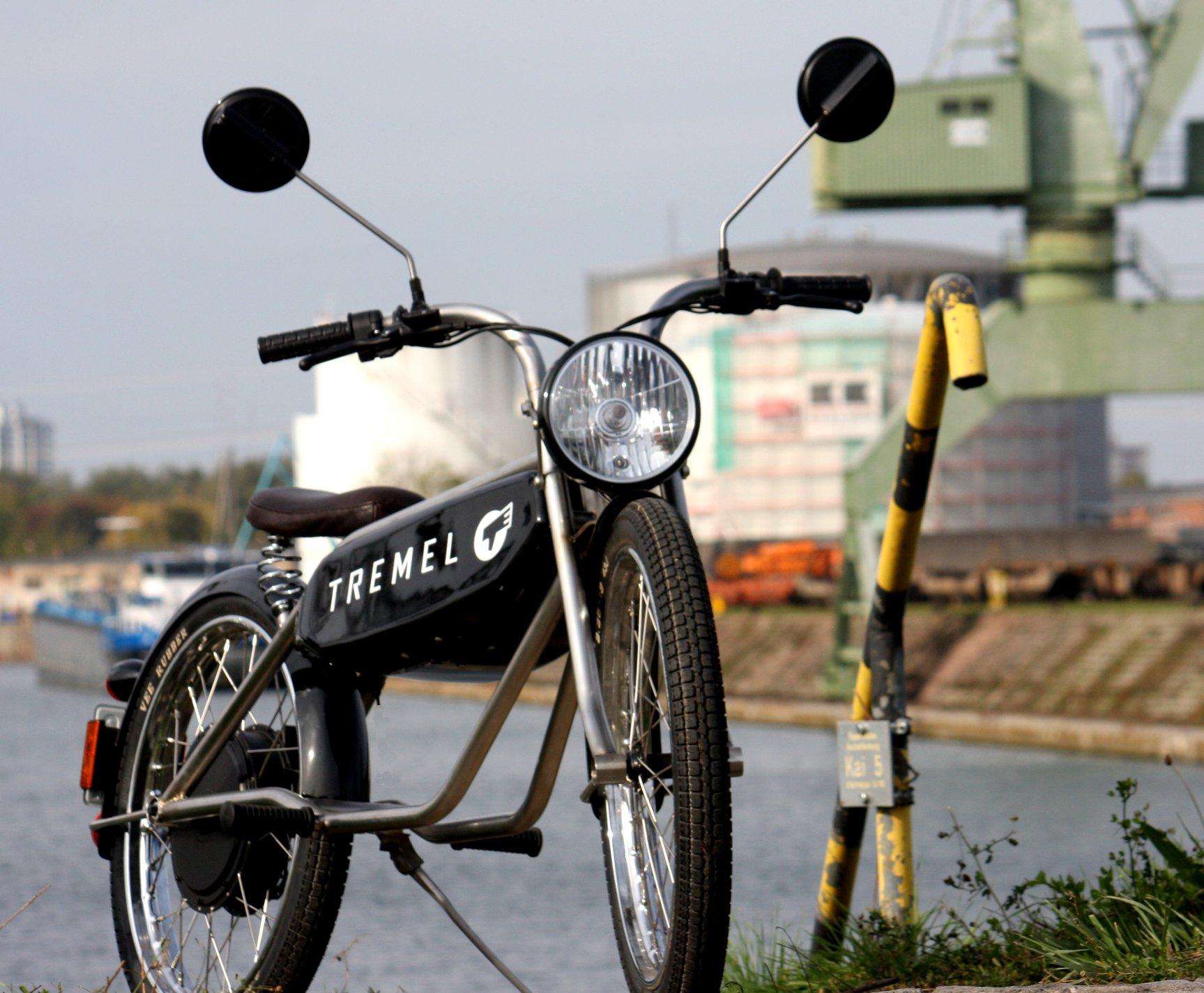 Tremel Zimmner : cette mobylette électrique au style vintage ravira les plus nostalgiques
