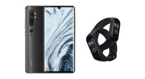 Le Xiaomi Mi Note10 est déjà moins cher, avec un Mi Band4 offert