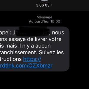 Attention à l'arnaque du SMS au colis sans affranchissement : nos astuces pour ne pas se faire avoir