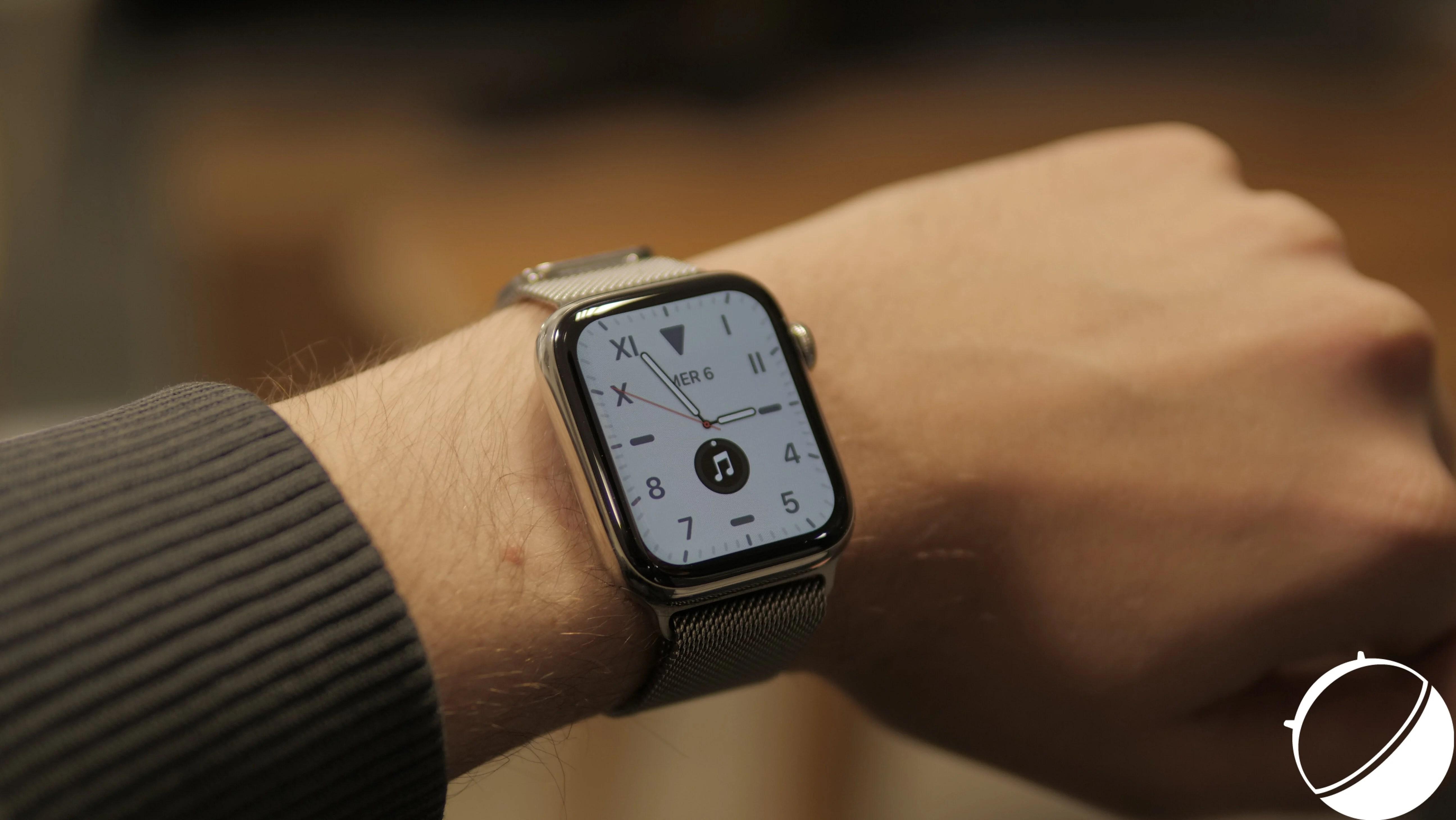 Test de l'Apple Watch Series 5 : une Series 4 raffinée