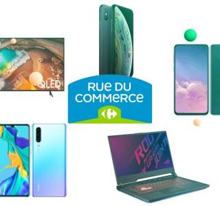 Smartphone, TV, audio et accessoires : toutes les meilleures offres du Cyber Monday chez Rue du Commerce