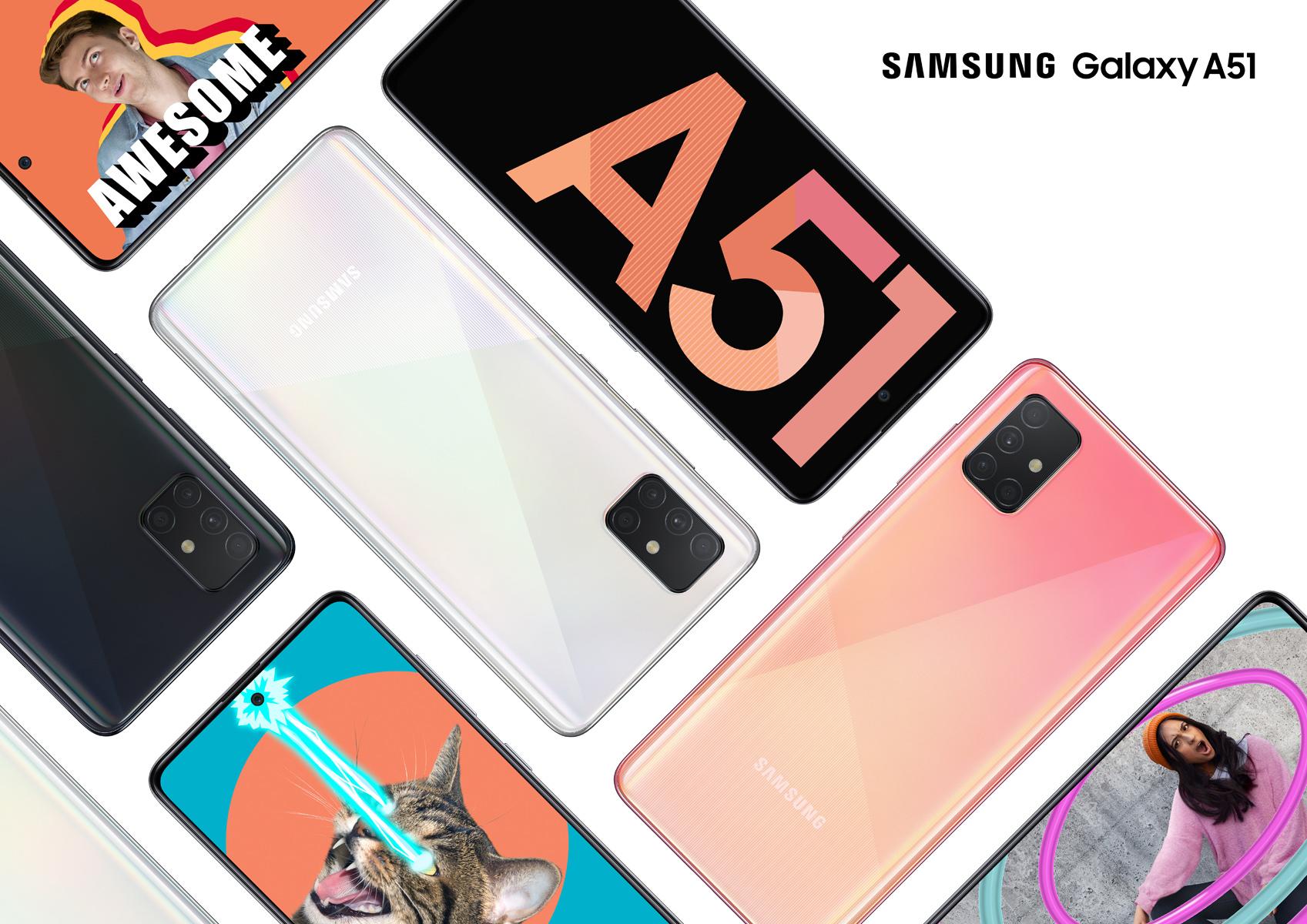 Galaxy A51 officialisé, smartphone Orange 5G et voiture imprimée en 3D – Tech'spresso