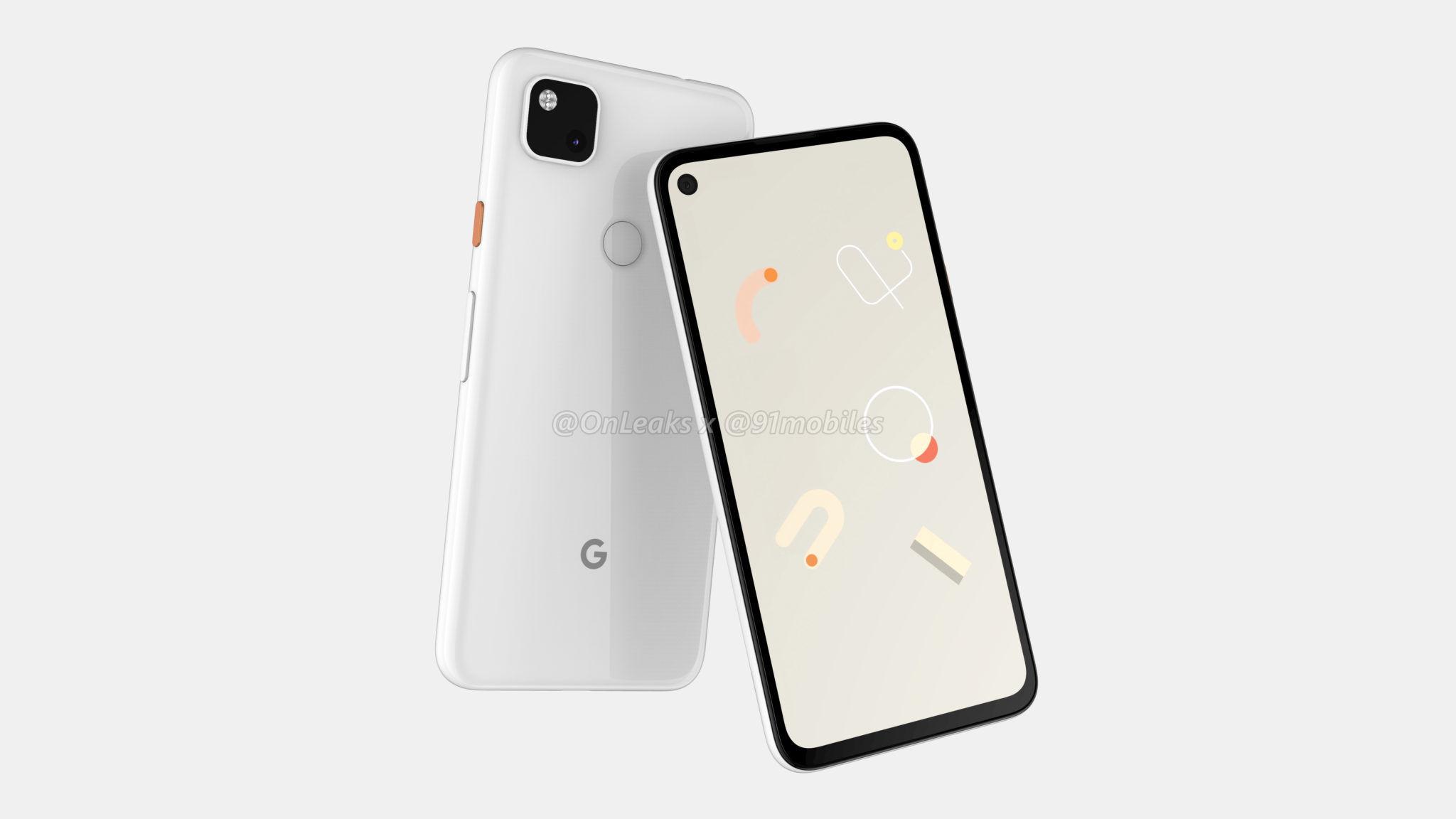 Google Pixel 4a : photo, stockage, batterie, le plein de nouveaux détails