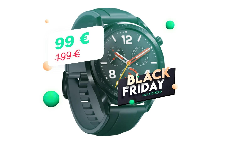 Huawei Watch GT à 99€, c'est la montre connectée la plus abordable du Black Friday