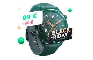Huawei Watch GT à 99 €, c'est la montre connectée la plus abordable du Black Friday