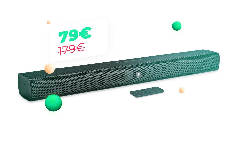 Améliorez le son de votre TV avec la barre de son JBL Bar Studio à 80 euros pour le Cyber Monday