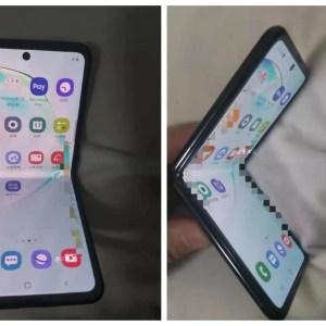 Un smartphone Samsung pliable à clapet dans la nature : le prochain Galaxy Fold ?