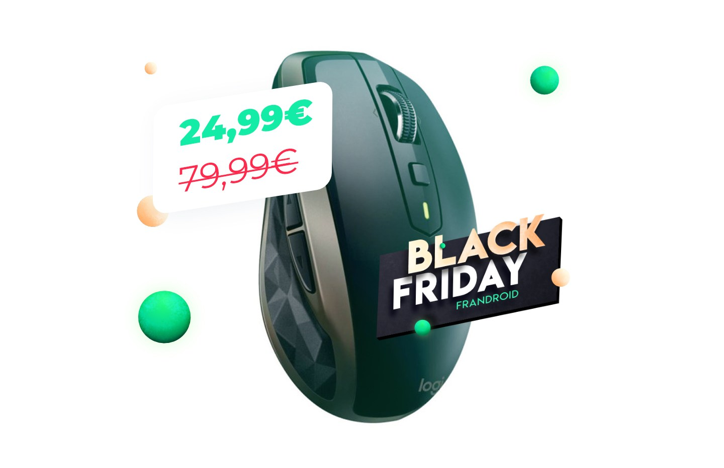La super souris nomade Logitech MX Anywhere 2 sous la barre des 25 euros pour le Black Friday