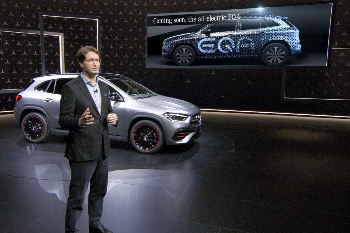 Mercedes EQA : le SUV compact électrique d'entrée de gamme s'invitera à la fête en 2020