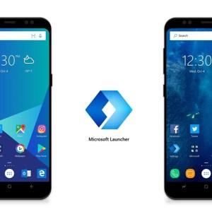 La navigation par gestes d'Android 10 déboule sur Microsoft Launcher