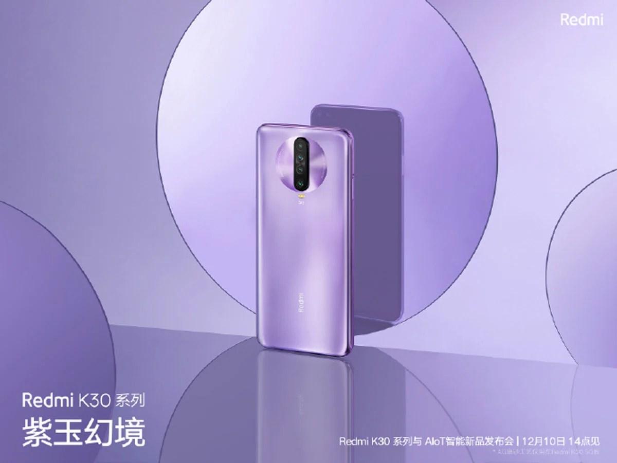 Xiaomi Redmi K30 : batterie de 4500 mAh, 5G et Snapdragon 765G déjà au menu