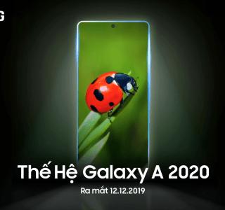 Samsung Galaxy A 2020 : le premier modèle est officialisé dans quelques jours