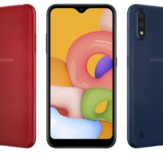 Galaxy A01 : Samsung dévoile son nouveau smartphone d'entrée de gamme