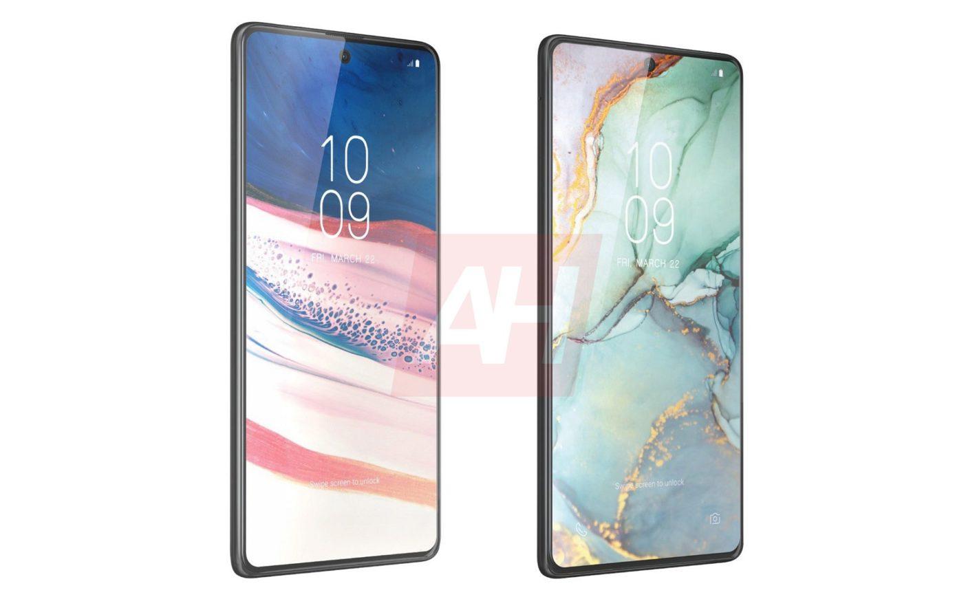 Samsung Galaxy S10 Lite et Note 10 Lite : les rendus presse apparaissent avant l'heure
